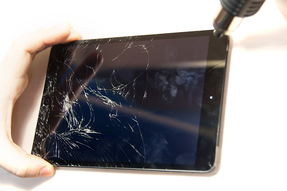 Как сделать так чтобы разбитый экран работал 17